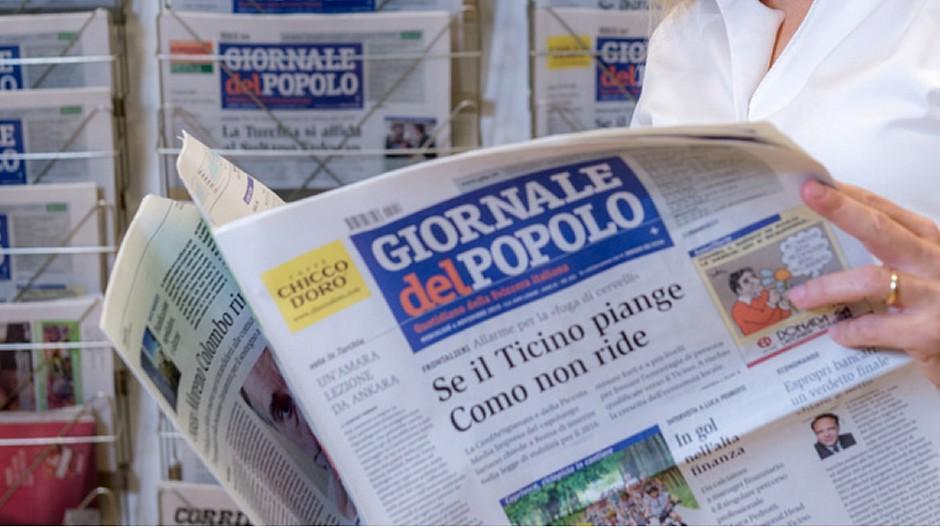 Publicitas: Vermarktung von «Giornale del Popolo»