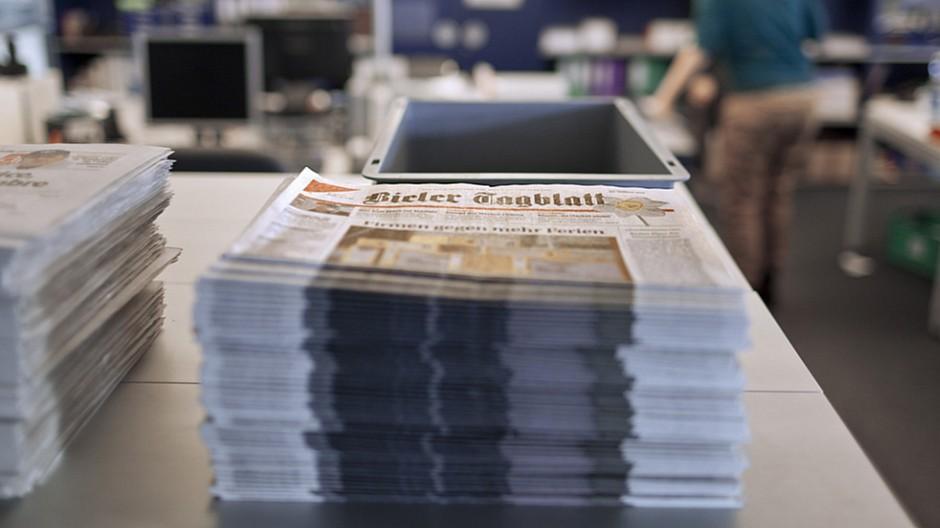 Bieler Tagblatt: Verzicht auf Seiten der «Berner Zeitung»