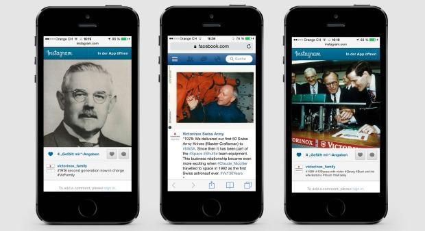 Leo Burnett: Virtuelle Zeitreise mit Victorinox
