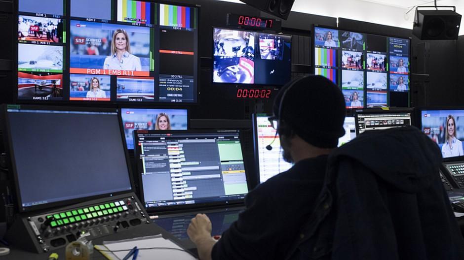 Schweizer Journalisten-Studie: Viele wollen bei der SRG arbeiten