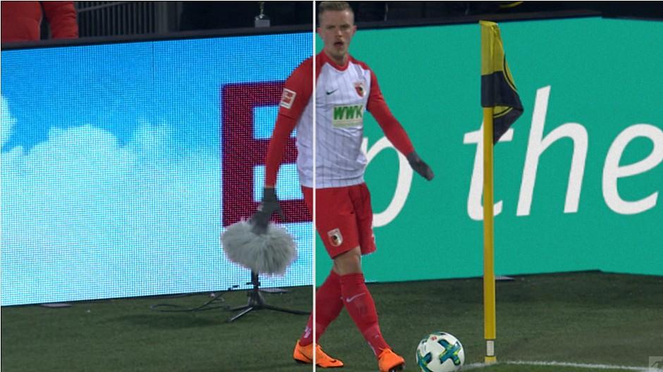 TV-Vermarktung: Virtuelle Bandenwerbung bei Bundesliga