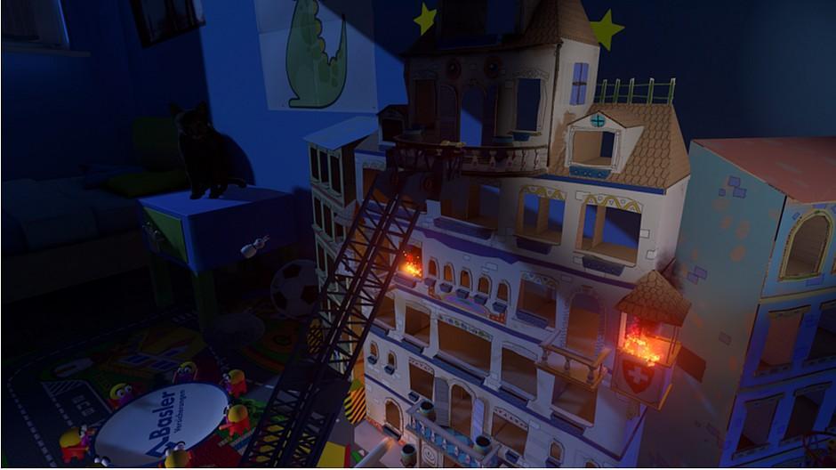 Responsive: Virtuelles Spiel mit dem Feuer
