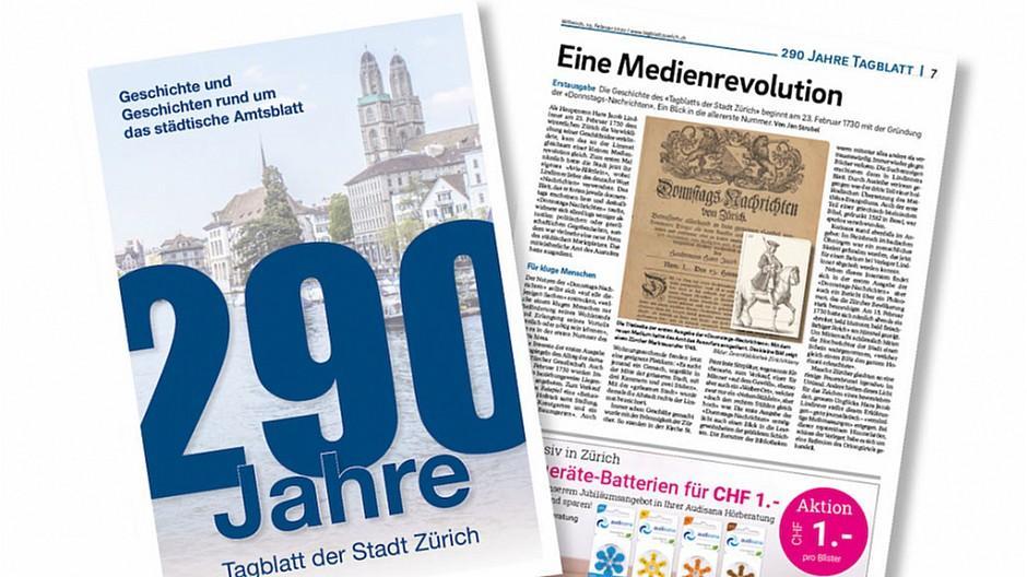 Tagblatt der Stadt Zürich: Vom «Blettli» zur Zürcher Institution