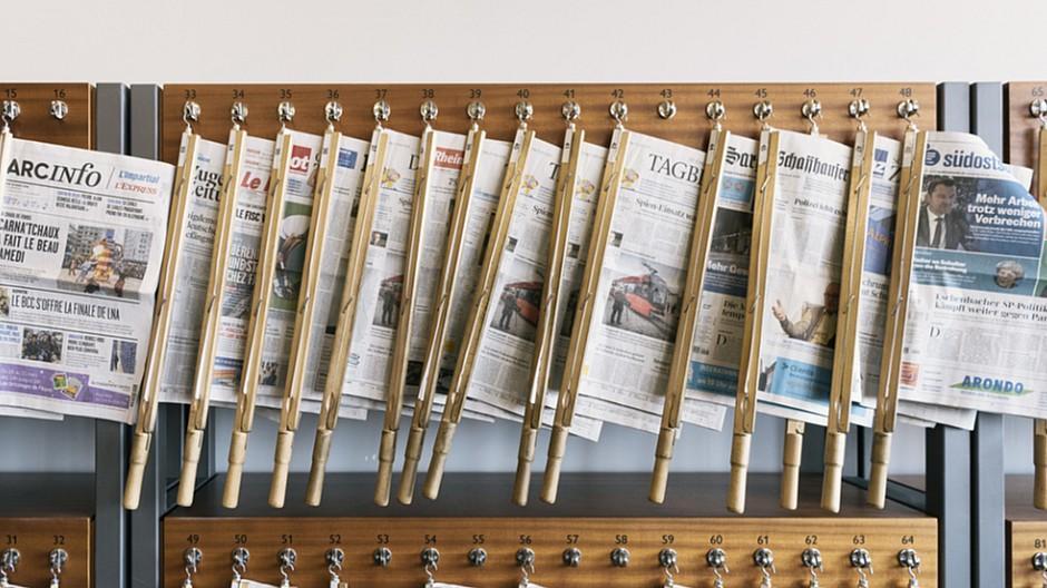Wemf Mach Basic: Welche Zeitungen Leser verlieren, welche zulegen