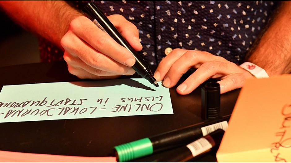 Medien-Barcamp 2019: Wenn das Fernsehstudio zur Denkfabrik wird