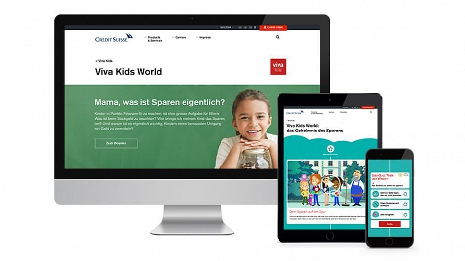 Namics: Wenn Kinder dem Sparen auf der Spur sind