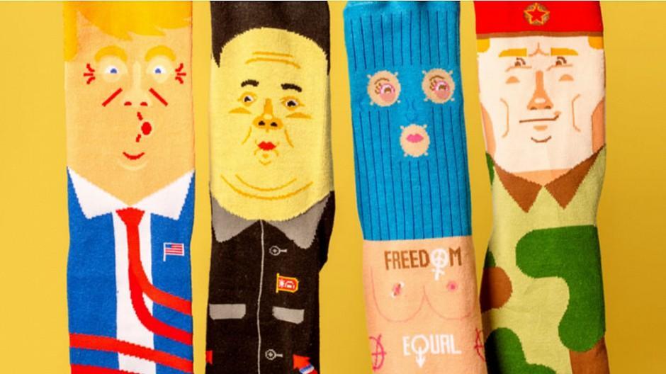 Franz&René: Wenn sich Gegenspieler auf die Socken machen