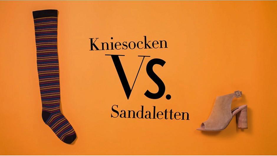 Leo Burnett Schweiz: Ring frei für Kniesocken und Sandaletten