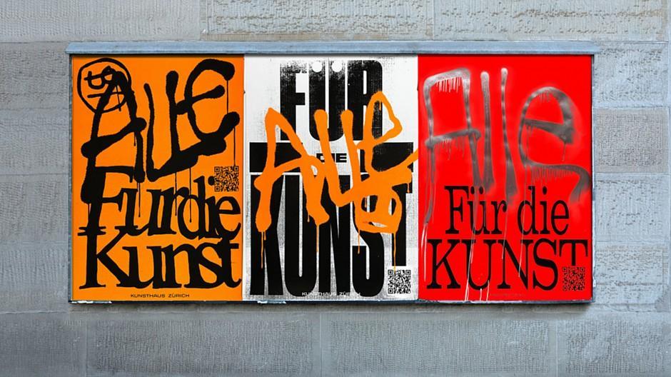 Charles Blunier & Co.: Wenn sogar das Plakat zur Kunst wird