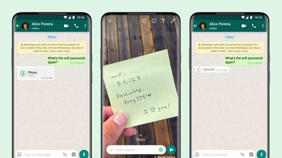 Facebook: WhatsApp lässt Fotos automatisch verschwinden