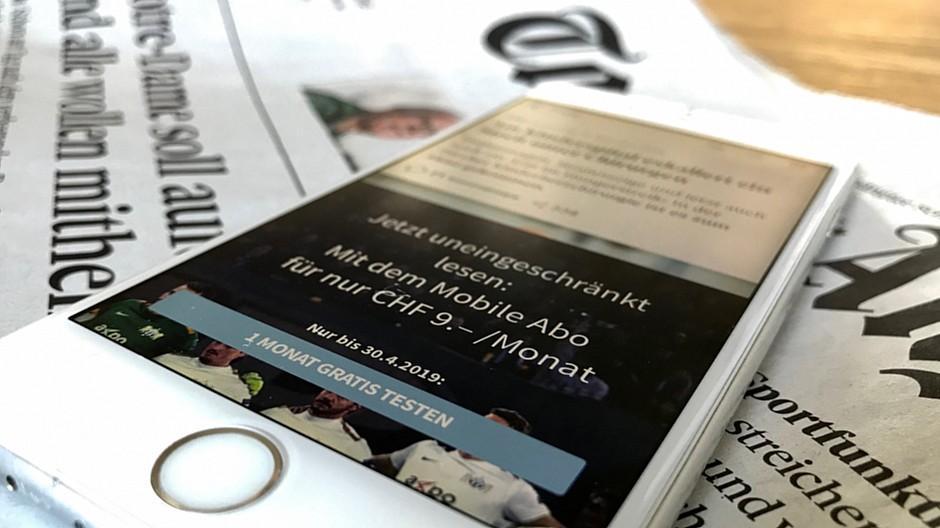 Investitionen in Bezahlmedien: Wie Tamedia zahlende Leser gewinnen will