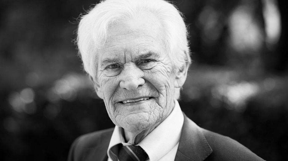 Todesfall: Wilhelm Wieben stirbt mit 84 Jahren