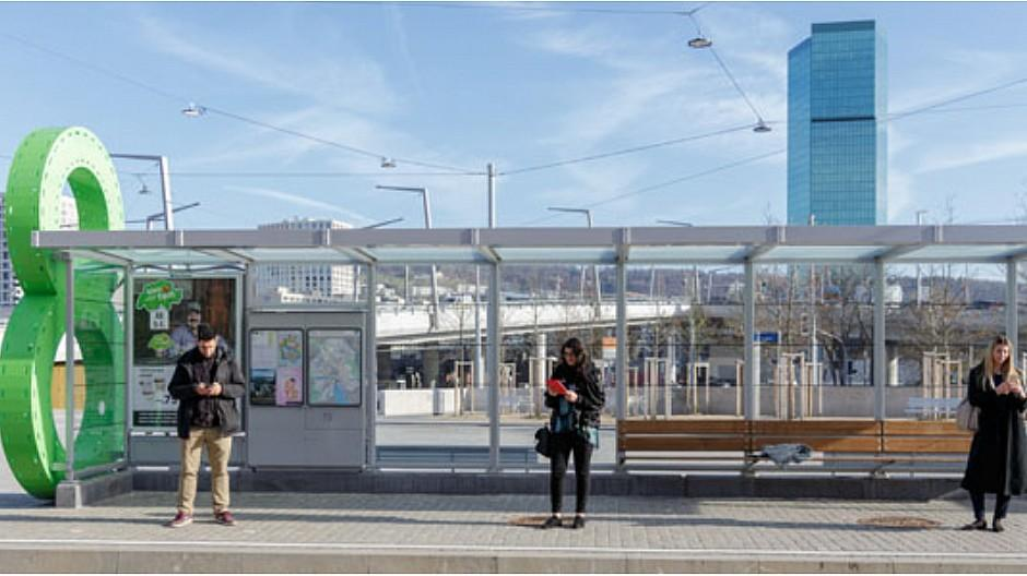 Clear Channel / VBZ: Internet an fünf Haltestellen in Zürich