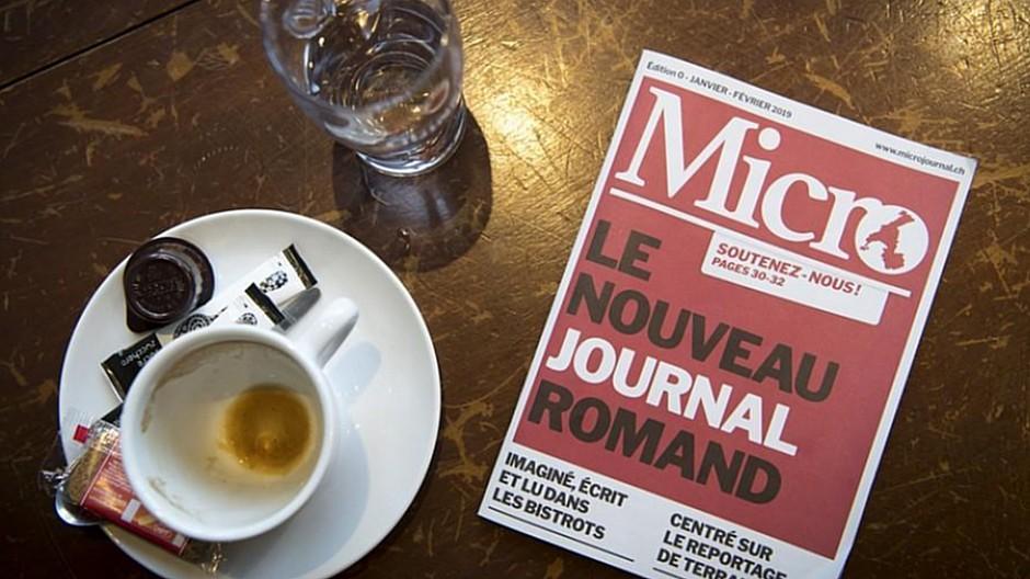 Westschweiz: Wochenpublikation Micro ist bereits am Ende