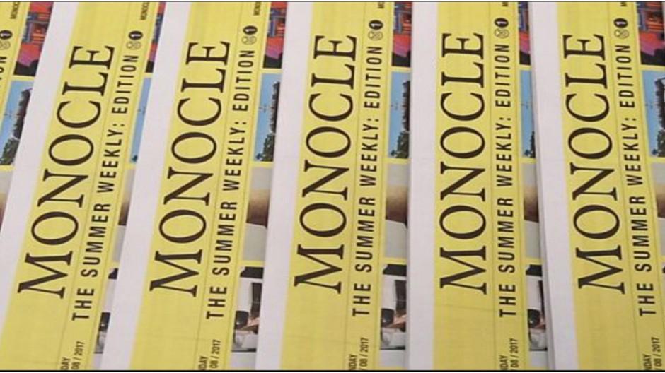 Monocle: Wochenzeitung für den Sommer lanciert