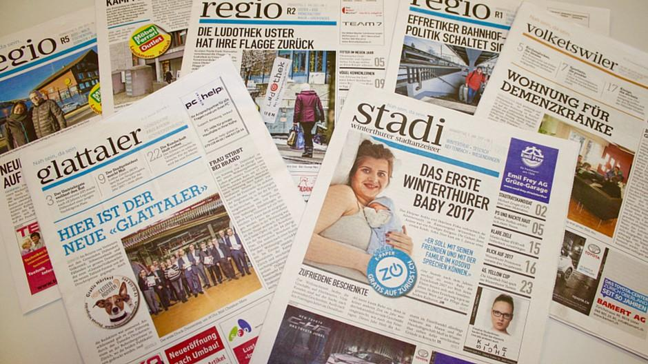Zürcher Oberland Medien: Wochenzeitungen mit einheitlichem Auftritt und neuem Werbepool