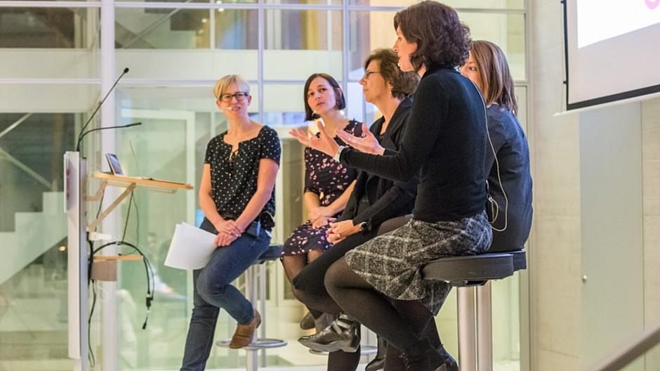 Tamedia / We Shape Tech: Vier Vorbilder und ihre vier Wege