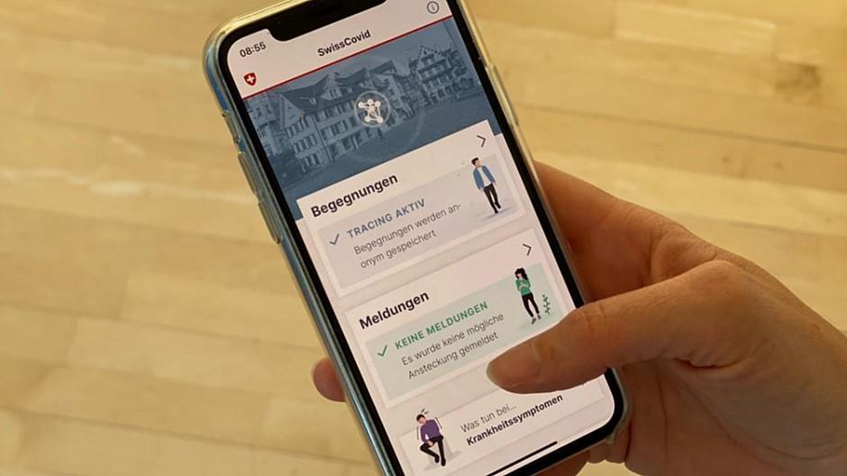 Swiss-Covid-App: Corona-Tracing-App bereits von Tausenden genutzt