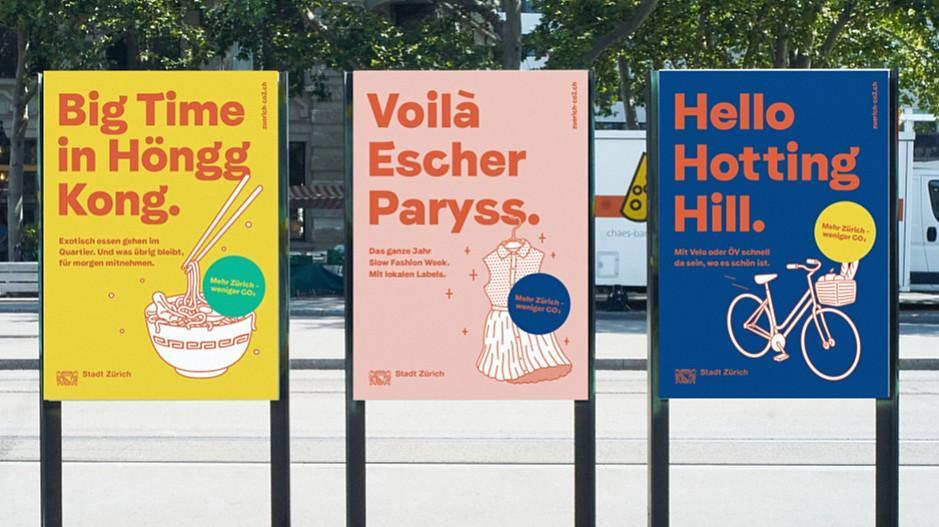 Freundliche Grüsse: Mit Höngg Kong oder Hotting Hill gegen CO2