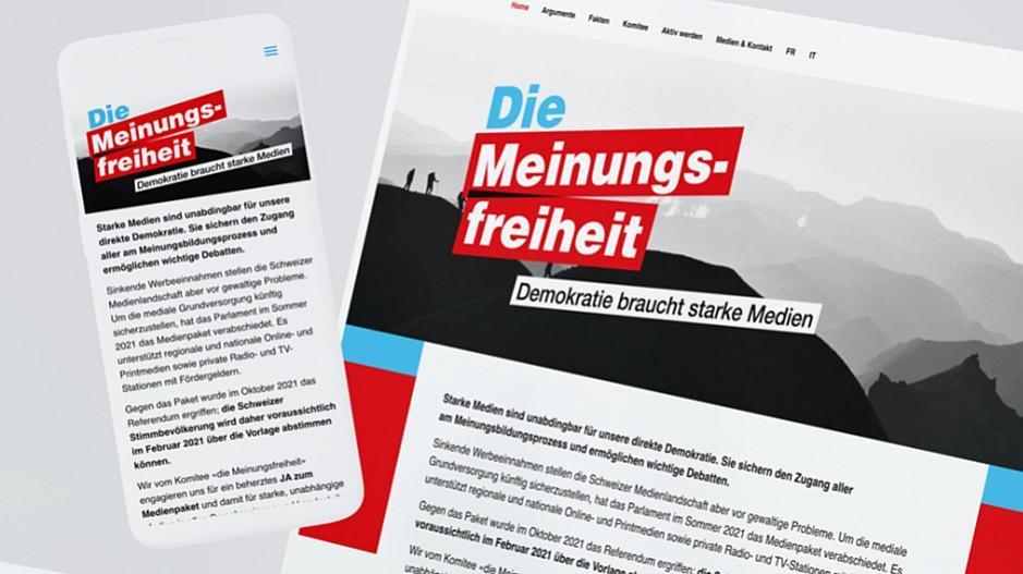 Medienförderung: Inserat-Aktion als Antwort auf Referendum