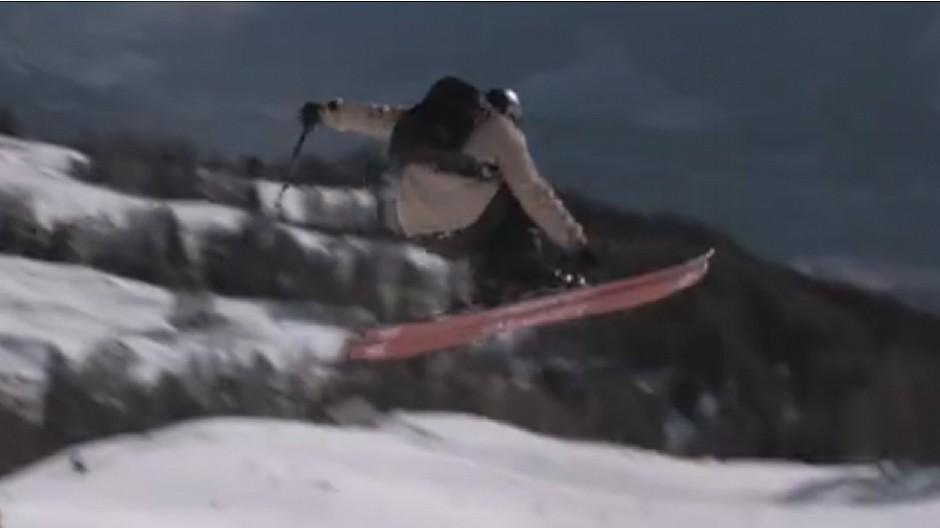 Franz & René: Auf Skiern den Berg hinunterbrettern