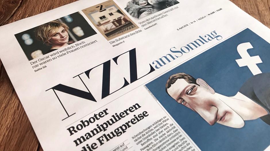 NZZ am Sonntag: Zeitung erhält aufgehübschtes Kleid