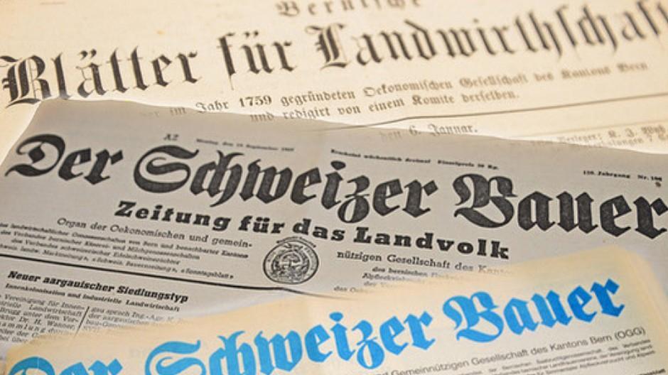 Schweizer Bauer: Zeitung feiert 175-Jahr-Jubiläum