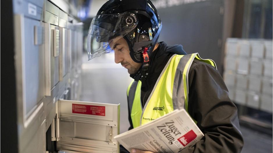 Medienförderung: Zeitungs-Frühzustellung bleibt bei der Post