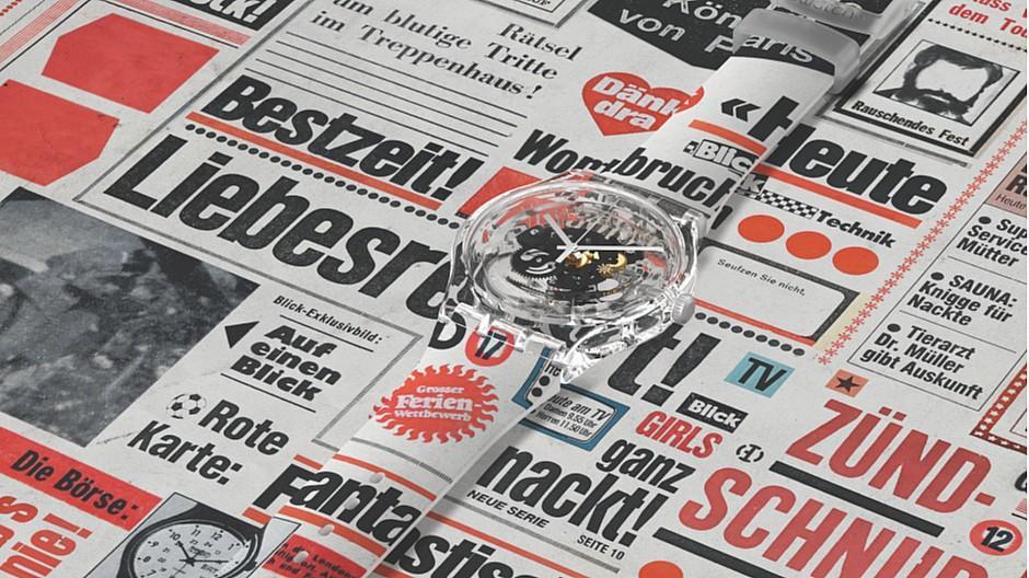 Ringier: Zeitungsgeschichte für das Handgelenk
