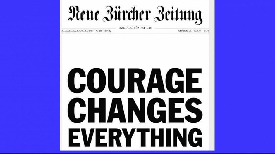 NZZ: Heftige Kritik an Werbe-Frontseite