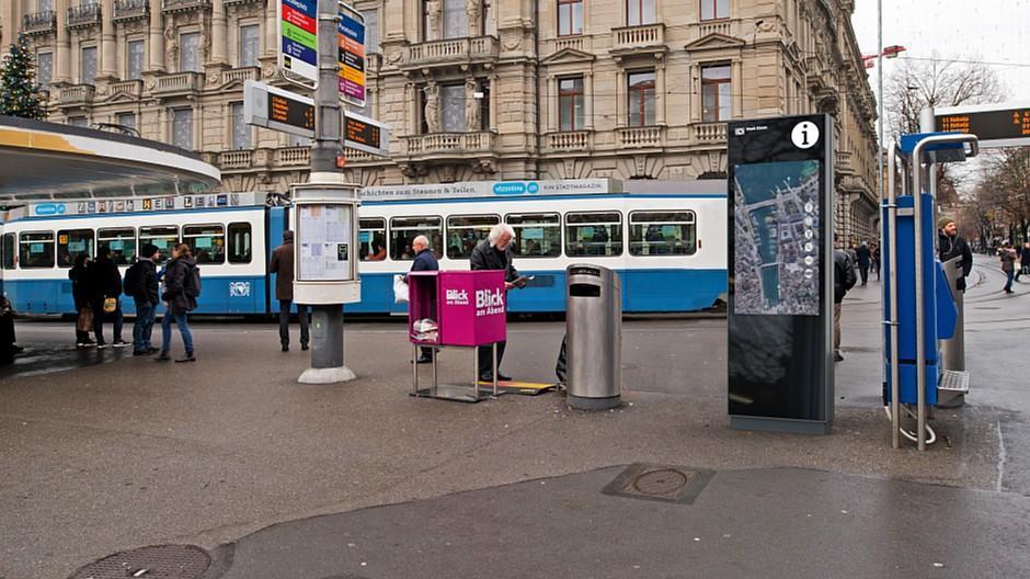eCitypläne: Zürich setzt auf interaktive Stadtpläne