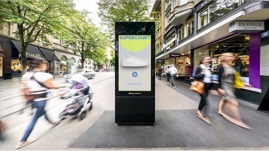 Clear Channel: Zürich vergibt Zuschlag für DOOH-Screens