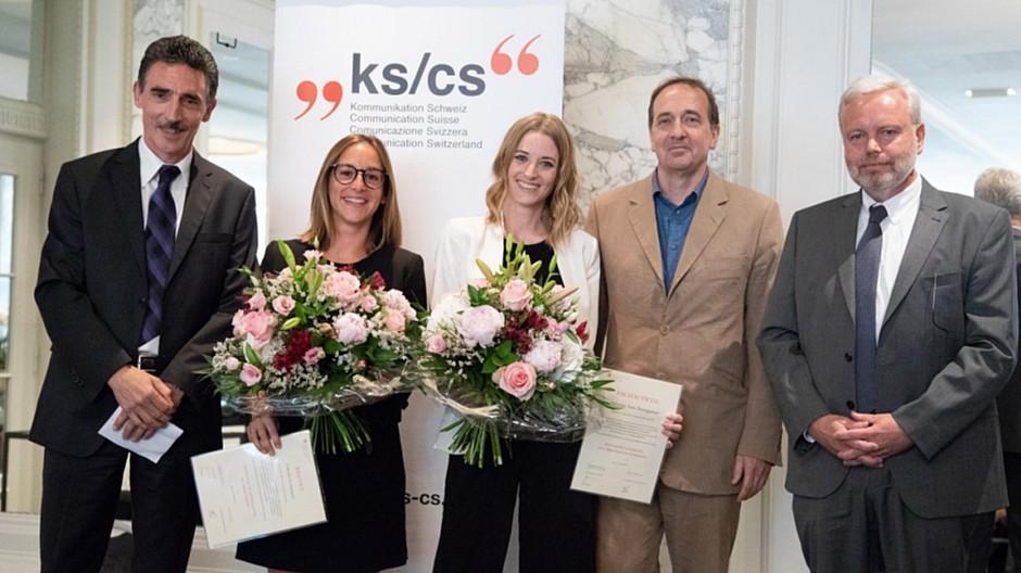 KS/CS Kommunikation Schweiz: Gleich zweimal die Note 5,0 erreicht