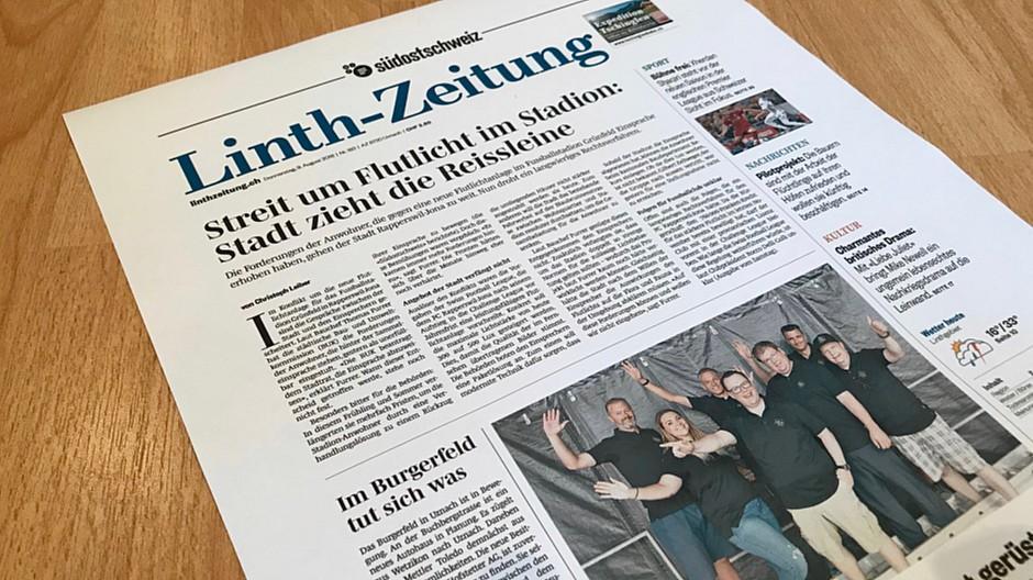 Somedia / Tamedia: Zwei Verlage gründen eine neue Zeitung