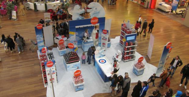 Aroma mall promotionen f r coca cola und nestea marketing for Aroma agentur