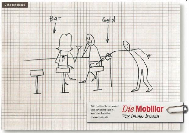 Mobiliar happy birthday schadenskizzen werbung for Versicherung mobiliar