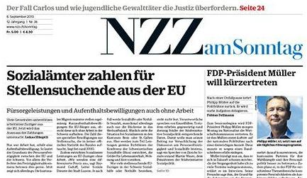Zeitung Zum Sonntag