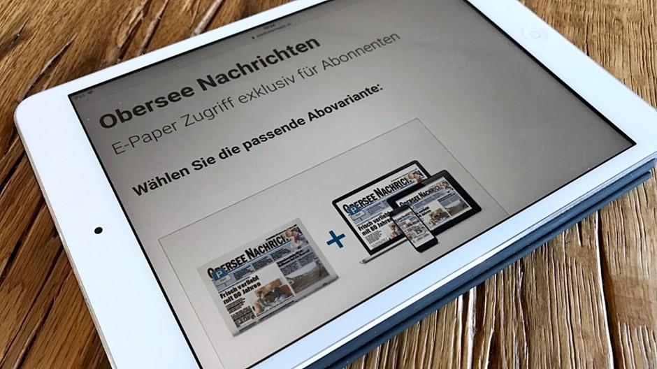 obersee nachrichten gratiszeitung kostet online. Black Bedroom Furniture Sets. Home Design Ideas