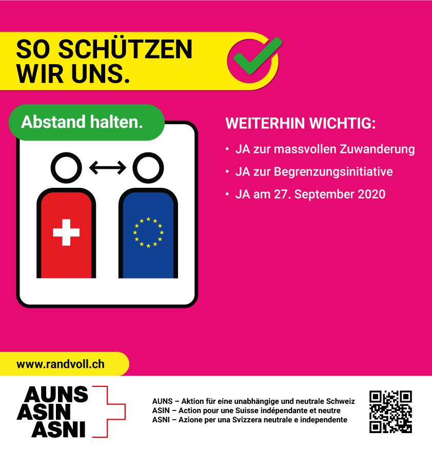 Politwerbung: Die Auns kopiert die BAG-Kampagne - Werbung
