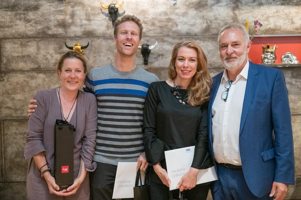 Bild 3 Gruppe bester Abschluss mit Peter Felser