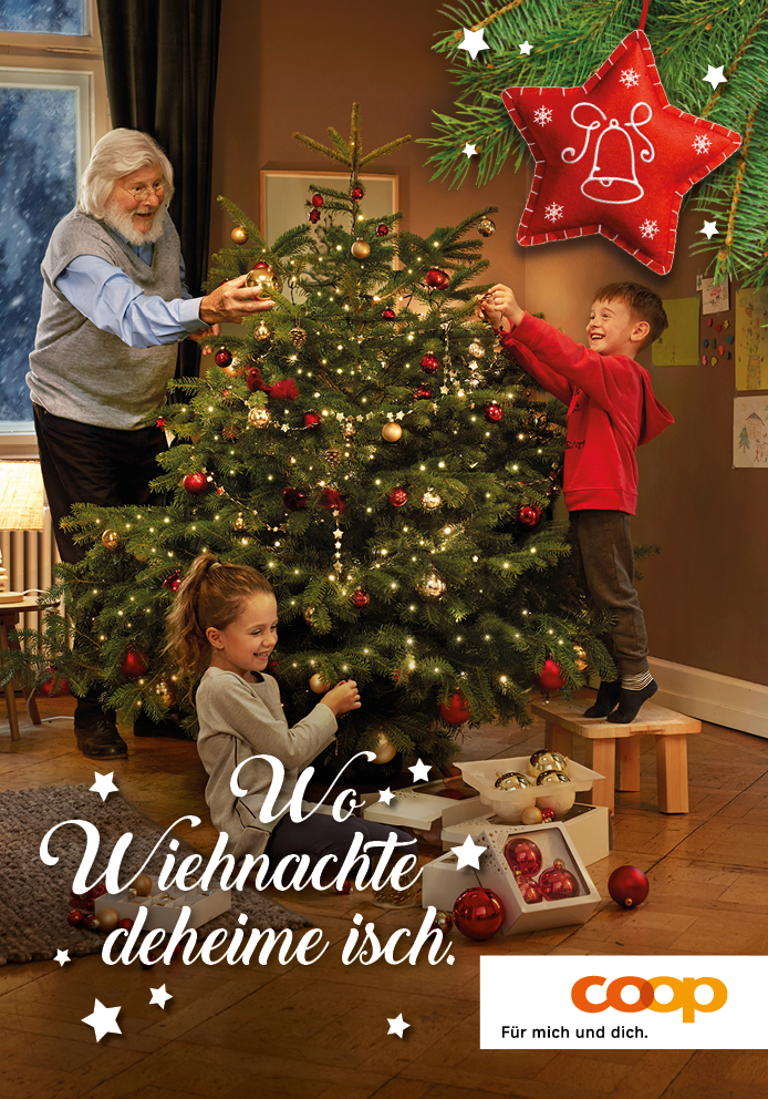 Coop xmas Image Plakat F4 National D