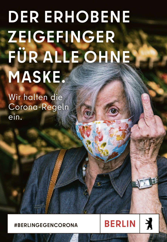 Berlin: Stinkefinger sorgt für Strafanzeige - Werbung