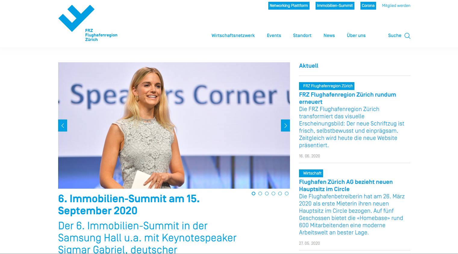 FRZ Redesign Neue Website