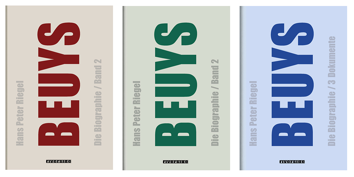 Hans Peter Riegel BEUYS books #art #kunst