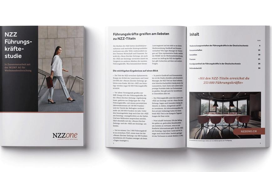 NZZ Medien – Nummer 1 bei Führungskräften