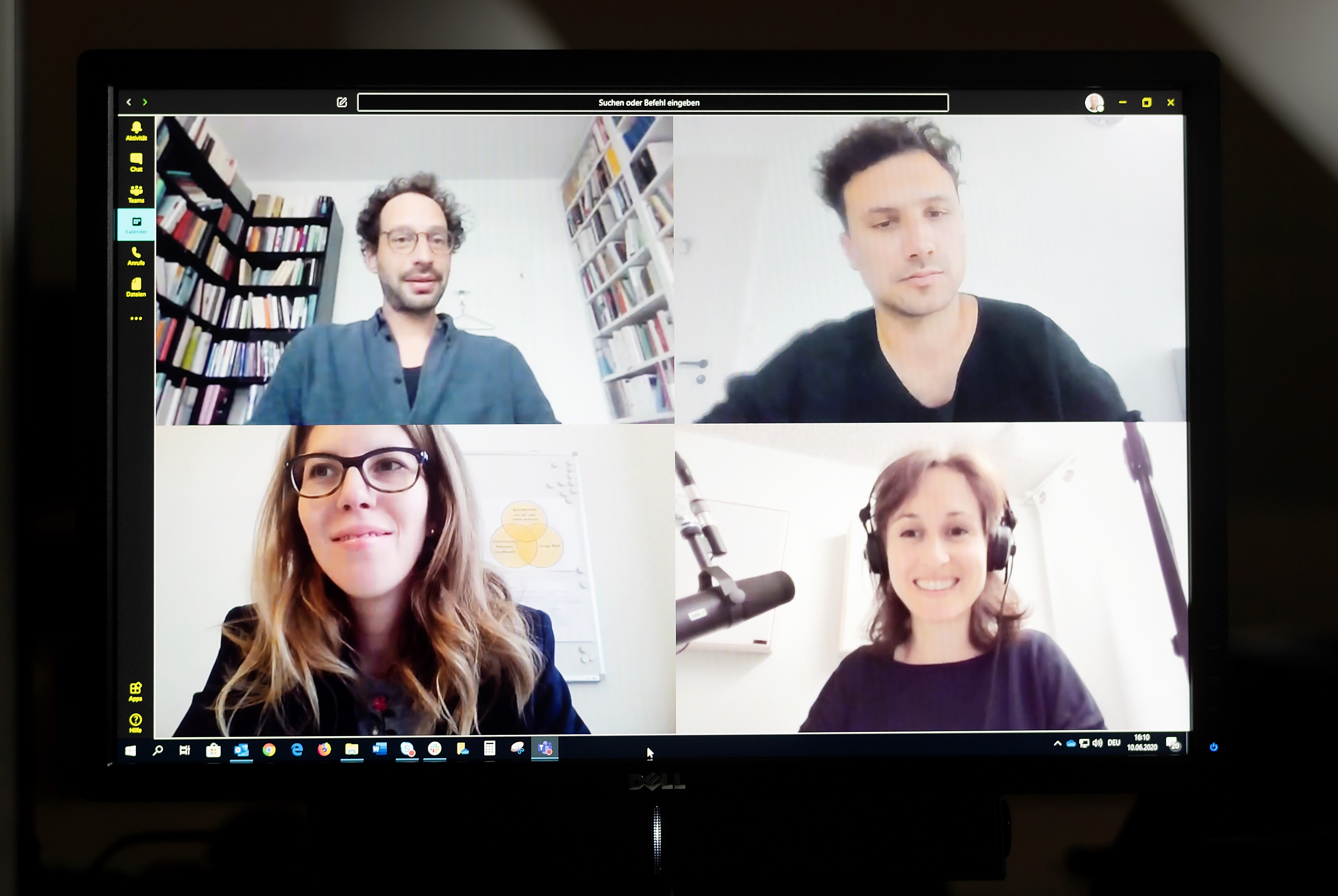 Videokonferenz-Teamfoto_NZZ-Podcast