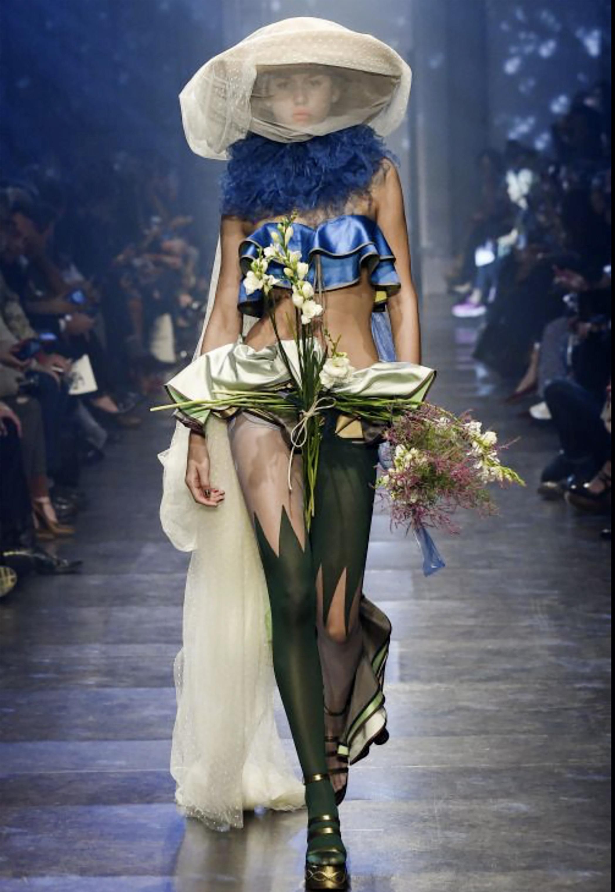 Vivienne Rohner Vivienne Westwood Show Paris 2