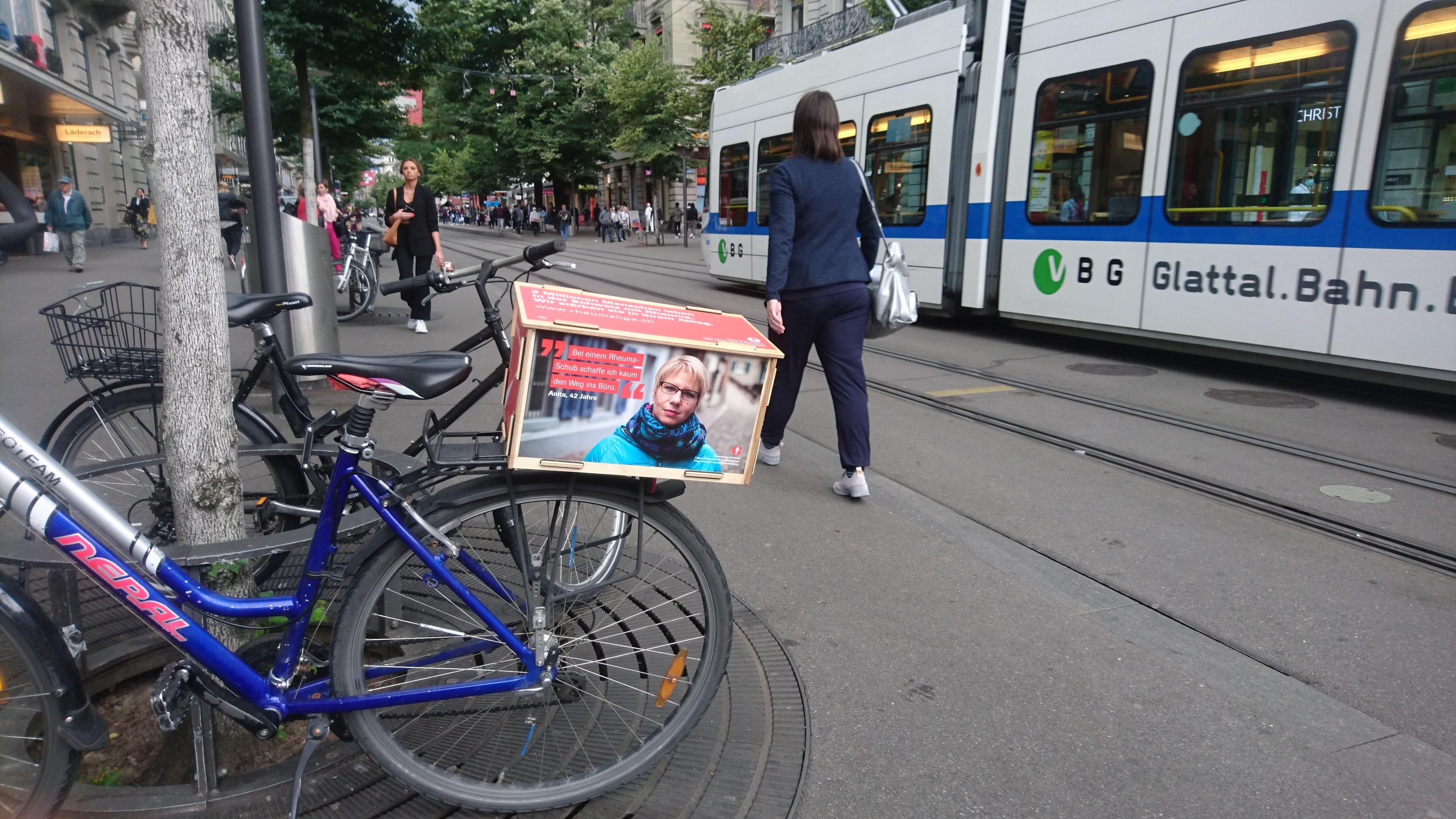 Werbeflächen in Zürich