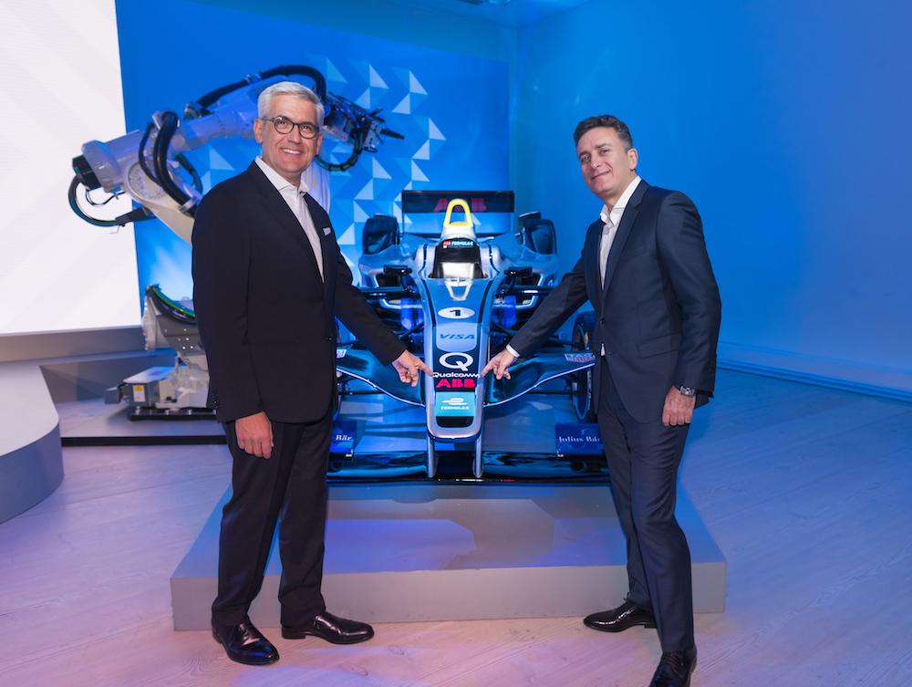 ABB wird Sponsor von Formel E