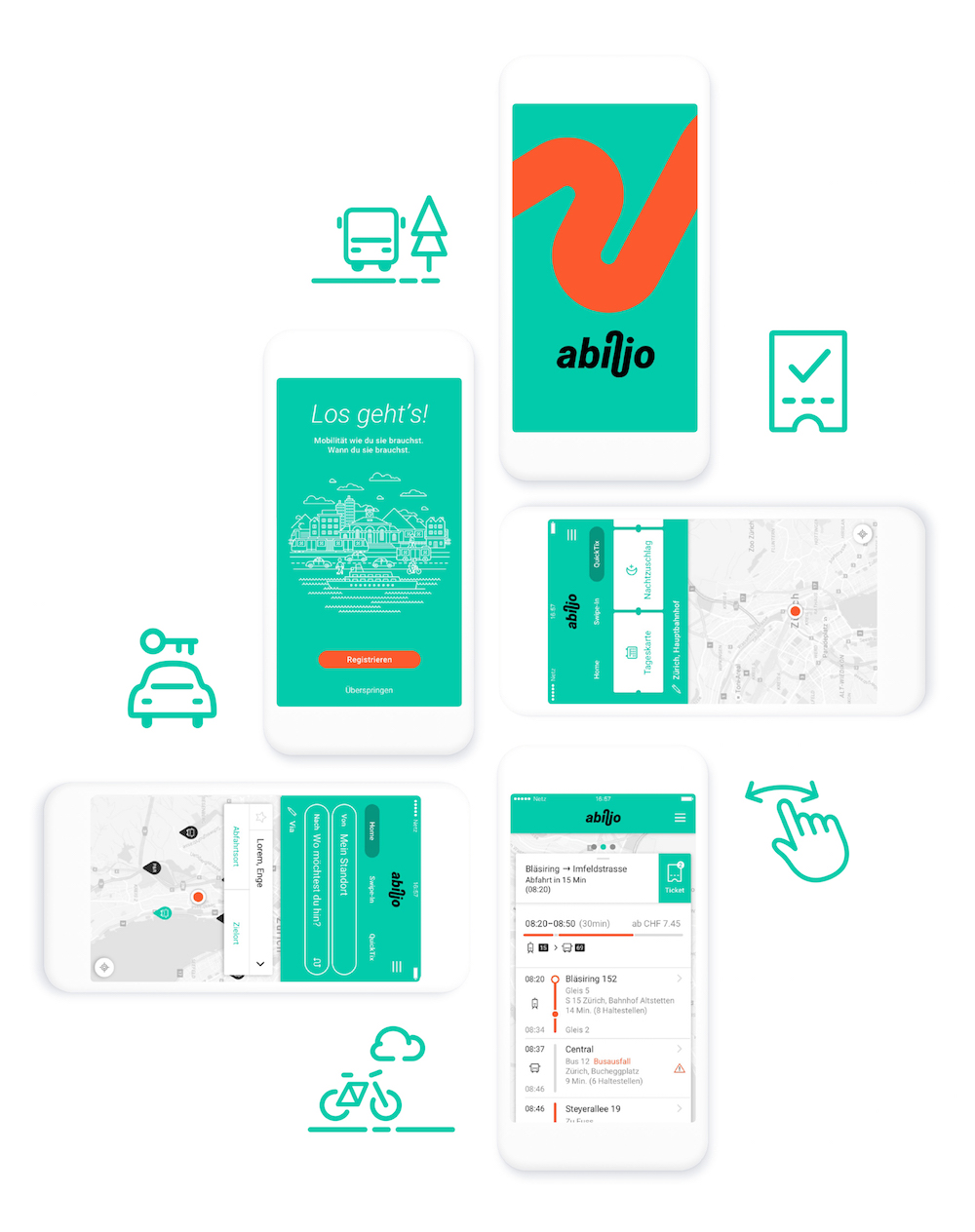 bloom identity digitaler brand f r vision re reise app werbung. Black Bedroom Furniture Sets. Home Design Ideas